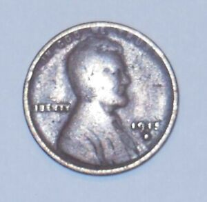 LINCOLN WHEAT PENNY 1915 D 535