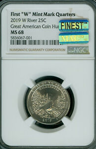 Click now to see the BUY IT NOW Price! 2019 W RIVER NO RETURN QUARTER NGC MS68 PQ MAC FINEST GRADE MAC SPOTLESS  .