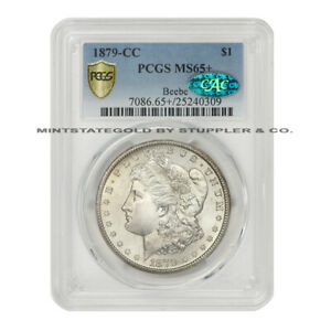 Click now to see the BUY IT NOW Price! 1879 CC $1 MORGAN PCGS MS65  CAC CERTIFIED CARSON CITY SILVER DOLLAR KEY DATE