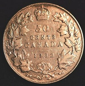 1932 CANADA 50 CENTS