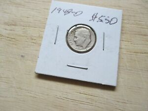 1948 D ROOSEVELT DIME WILL COMBINE SHIPPING
