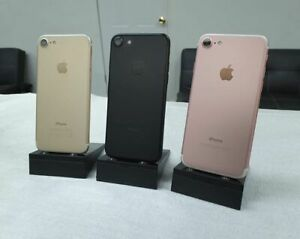 APPLE IPHONE 7   32GB   BLACK ROSE GOLD. GOLD  UNLOCKED   CDMA   GSM