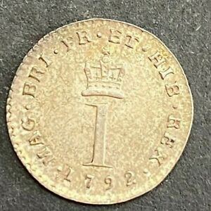 1792 1 PENCE ONE PENNY MAUNDY    MP132