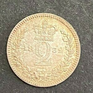 1838 TWOPENCE 2 PENNY MAUNDY    MP135