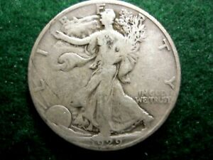1929 D  WALKING LIBERTY HALF DOLLAR BETTER DATE COLLECTIBLE GRADE OVER 90 YEARS