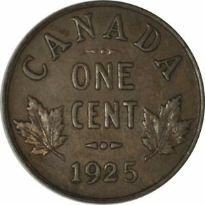 1925 CANADA SMALL CENT NICE XF   KEY DATE/LOW MINTAGE   D68UTSH2