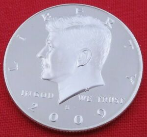 2009 S GEM PROOF DEEP CAMEO KENNEDY HALF FROM PROOF SET   UNC   CLAD  10860