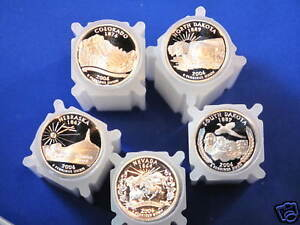 Click now to see the BUY IT NOW Price! 2006 S SILVER STATEHOOD QUARTER PROOF ROLL SET