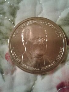 2014 D FRANKLIN D ROOSEVELT PRESIDENTIAL DOLLAR COLLECTIBLE COIN