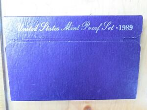 1989 S PROOF SET UNITED STATES US MINT QUICK SHIP OUT