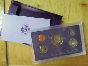 1988 S UNITED STATES PROOF SET SAN FRANCISCO MINT BULLION BIRTH YEAR SET COINS