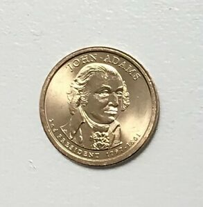 2007 P JOHN ADAMS PRESIDENTIAL DOLLAR COIN  BU