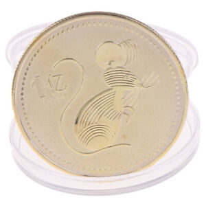 2020 RAT YEAR ONE HUNDRED MILLION CHINESE COMMEMORATIVE COIN CHALLENGE COINS_FEH