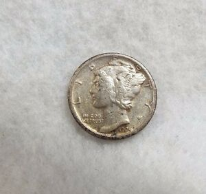 1924 S MERCURY DIME  XF  EXTRA FINE SILVER 10 CENTS