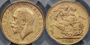 Click now to see the BUY IT NOW Price! AUSTRALIA 1922 MELBOURNE SOVEREIGN   PCGS MS63