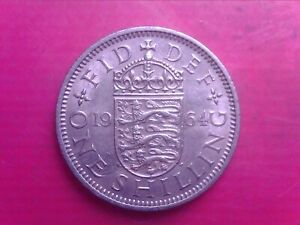 GREAT BRITAIN ONE SHILLINGS 1964    SEP06