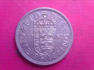GREAT BRITAIN ONE SHILLINGS 1961    SEP06