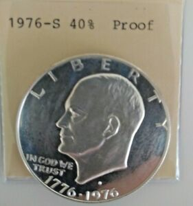 1976 S  IKE DOLLAR 40  SILVER  PROOF