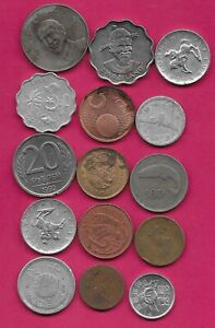 15 WORLD COINS LOTS MIX DATES MIX COUNTRIES 11