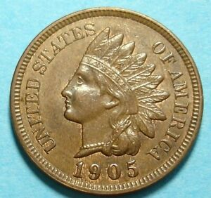 1905 INDIAN HEAD PENNY MS