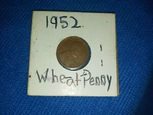 1952 D COPPER LINCOLN WHEAT CENT AMERICAN COIN