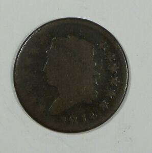 1814 CLASSIC HEAD LARGE CENT AG  1 CENT