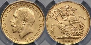 Click now to see the BUY IT NOW Price! AUSTRALIA 1923 SYDNEY SOVEREIGN   PCGS MS64