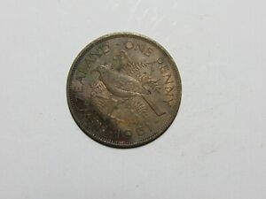 OLD NEW ZEALAND COIN   1961 PENNY   CIRCULATED