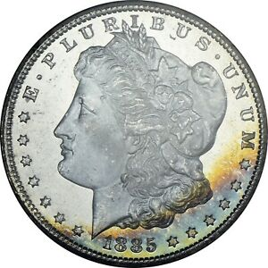 Click now to see the BUY IT NOW Price! 1885 CC GSA NGC MS67PL MORGAN DOLLAR TOP POP PL