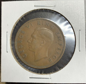 1941 NEW ZEALAND 1 PENNY FOREIGN COIN