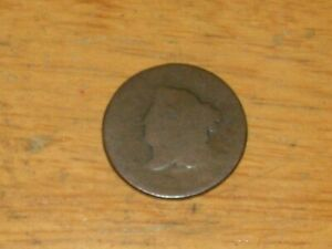 NO DATE U.S.LARGE CENT COUNTERSTAMPED REVERSED