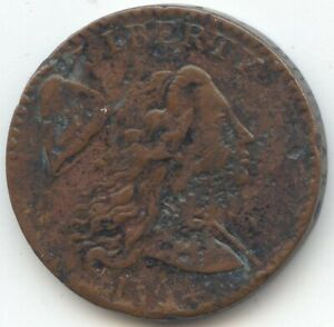 1794 LIBERTY CAP LARGE CENT SHARP XF DETAILS