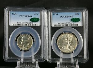 Click now to see the BUY IT NOW Price! 1936 PROOF SET PCGS PR 66 CAC COMPETE FIVE COIN SET