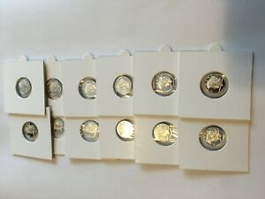 PEACE DOLLAR SOLID SILVER 12 PACK OF 1 GRAM COINS BY REEDERSONG