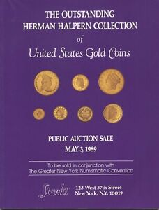 STACK'S: THE MAGNIFICENT HERMAN HALPERN COLLECTION OF U.S. GOLD COINS