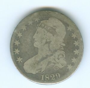1829 BUST HALF DOLLAR CIRCULATED