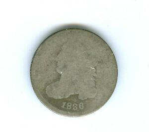 1836 BUST DIME CIRCULATED