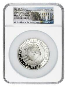 Click now to see the BUY IT NOW Price! 2020 SOMALIA SILVER 1000 SHILLINGS DONALD TRUMP 10 OZ UHR PF70 UC FDOI NGC COIN