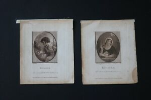 PAIR OF 1788 ENGRAVINGS AFTER S. SHELLEY BY C. TAYLOR AND WILLIAM BIRCH