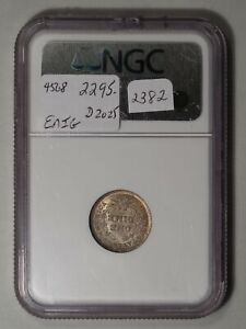 1838 LIBERTY SEATED DIME. LARGE STARS. NGC MS 65 CAC