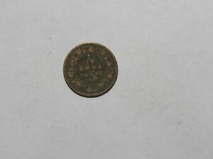 OLD BRITISH INDIA COIN   1927 1/12 ANNA   CIRCULATED