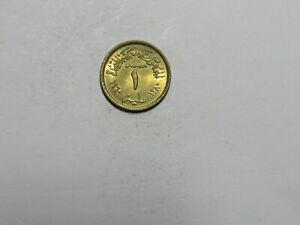 OLD EGYPT COIN   1960 1 MILLIEME   CIRCULATED SPOTS