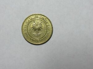 BAHRAIN COIN   2011 10 FILS   CIRCULATED