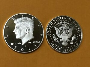 2013 S SILVER GEM PROOF KENNEDY HALF DOLLAR. THIS IS REALLY NICE  HIGH GRADE