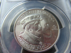 1924 50C PCGS MS 67  HUGUENOT COMMEMORATIVE HALF DOLLAR