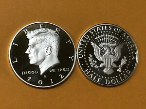2012 S SILVER GEM PROOF KENNEDY HALF DOLLAR. THIS IS REALLY NICE  HIGH GRADE