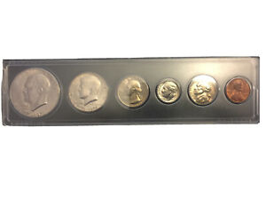 1975 BICENTENNIAL UNC MINT SET WITH IKE DALLOR IN WITMAN CASE