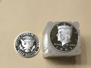 Click now to see the BUY IT NOW Price! 2009 S SILVER KENNEDY HALF  MY BEST UNGRADED 20 COIN ROLL  NICE PROOF COINS