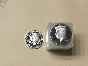 1993 S SILVER KENNEDY HALF  MY BEST UNGRADED 20 COIN ROLL  NICE PROOF COINS