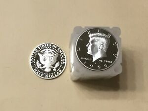 1996 S SILVER KENNEDY HALF  MY BEST UNGRADED 20 COIN ROLL  NICE PROOF COINS